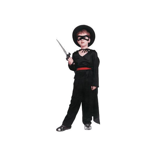 Disfraz Niño El Zorro T/4-6 1 Uni