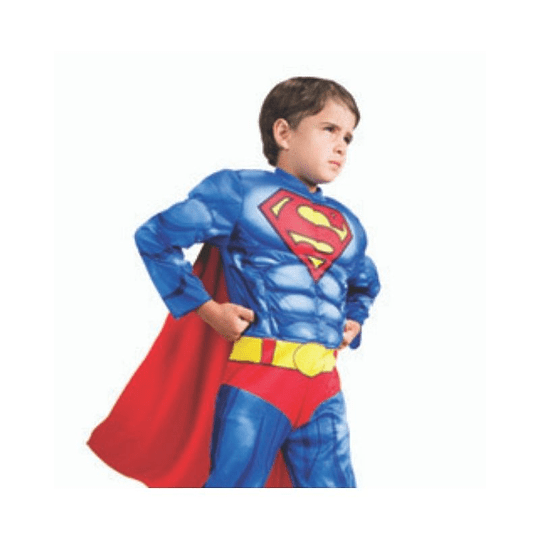DISFRAZ SUPERMAN DELUXE TALLA 4/6 1 UNI