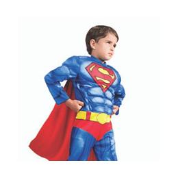 DISFRAZ SUPERMAN DELUXE TALLA 7/8 1 UNI