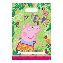 Bolsas Para Dulces Peppa Pig 6 Uni
