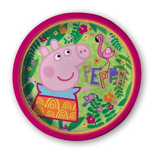 Platos Peppa Pig 6 Uni
