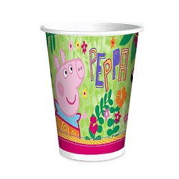 Vasos Peppa Pig 6 Uni