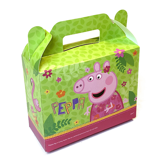 Cajita Con Cierre Maletin Peppa Pig 6 Uni