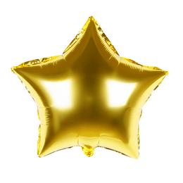 "Globo Foil 18"" Estrella Dorada 1 Uni"