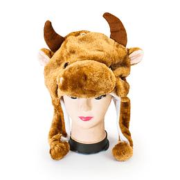 Sombrero Con Orejeras Vaca 1 Uni