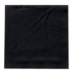 Servilleta Grande Negro 20 Uni