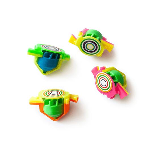 Mini Trompos Aire Colores 12 Uni