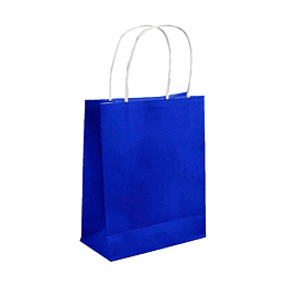 Bolsa De Regalo Azul 1 Uni