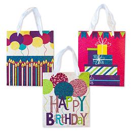 Bolsa De Regalo Iconos Happy Birthday Pequeña 1 Uni