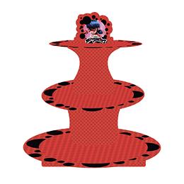 Bandeja 3 Niveles Ladybug 1 Uni