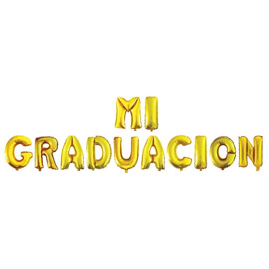 Globo Foil Mi Graduacion 40 cm. 1 Uni
