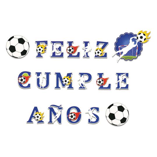 Guirnalda Feliz Cumpleaños Fútbol 3.5M 1 Uni