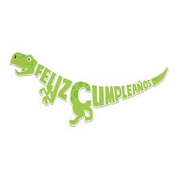 Guirnalda Feliz Cumpleaños Dino 3.5M 1 Uni