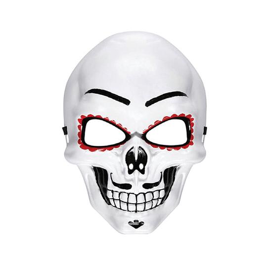 Máscara Día de Muertos 1 Uni