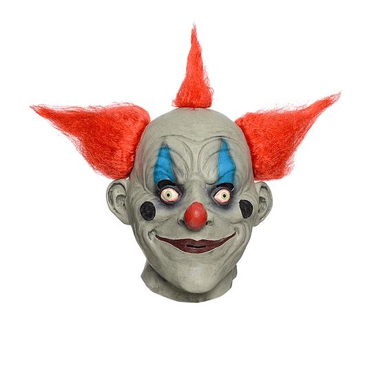Máscara Payaso Pelo Rojo 1 Uni