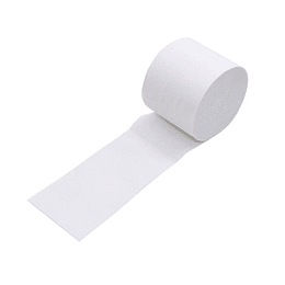 Festón Decorativo 5 cm. Blanco 6 Uni