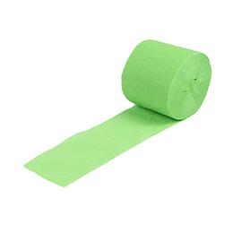 Festón Decorativo 5 cm. Verde Limón 6 Uni