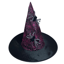 Sombrero Bruja Telaraña 1 Uni