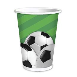 Vasos Futbol 6 Uni
