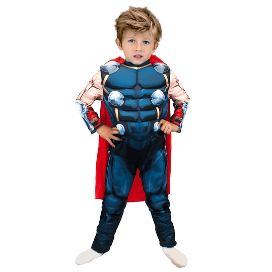 Disfraz Thor Deluxe Talla 7/8 1Uni