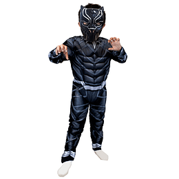 Disfraz Black Panther Civil War Deluxe Talla 7/8 1 Uni