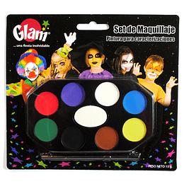 Set Maquillaje 8 Colores 1 Uni