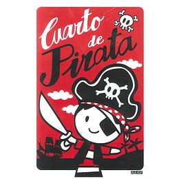 Letrero Cuarto De Pirata 1 Uni