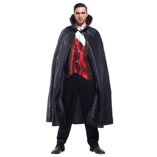 Disfraz Hombre  Vampiro Elegante Unica Talla 1 Uni