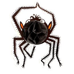 Deco Araña Patas Delg Papel 1 Uni