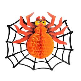 Deco Colgante Araña Naranja 1 Uni