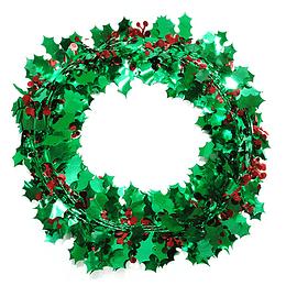 Guirnalda Metalizada Navidad 7.5Cm 1 Uni