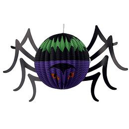 Decoracion Papel Araña 30 Cm 1 Uni