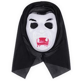 Mascara Pvc Calavera Con Sangre 1 Uni