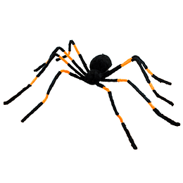 Araña Peluda 130Cm Con Luz 1 Uni