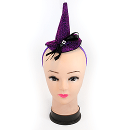 Cintillo Mini Sombrero Con Cinta Y Velo Colores Surtidos 1 Uni