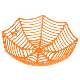 Cesta Forma Telaraña Naranja 1 Uni