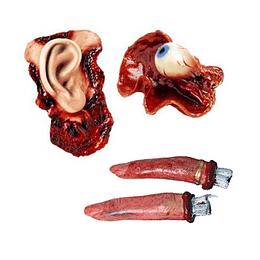 Trozos Humanos Con Sangre 5 Uni