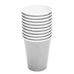 Vaso Metal Effect Plateado 6 Uni