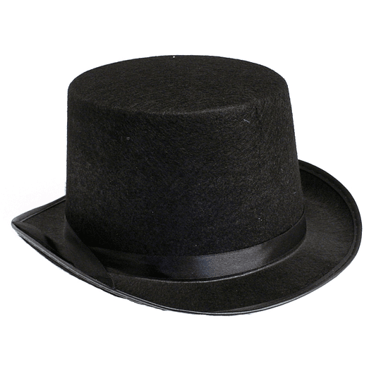Sombrero Copa Negro 1 Uni