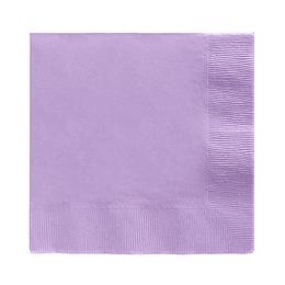 Servilleta Color Lavanda 20 Uni