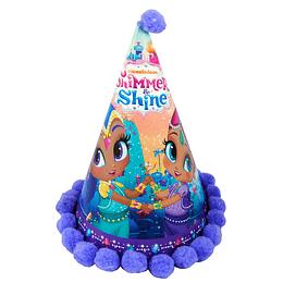 Gorro Festejado Shimmer & Shine 1 Uni