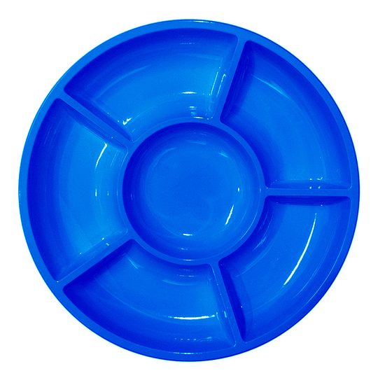 Bandeja Cocktail Glam  Azul 3 Uni