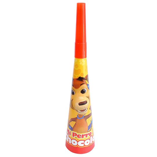 Corneta Mi Perro Chocolo 6 Uni