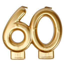 VELA DORADA 60 AÑOS 1 UNI