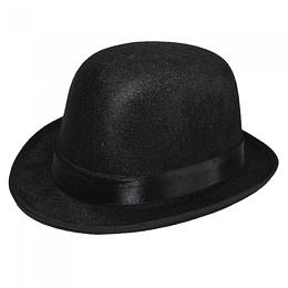 Sombrero Chaplin Paño Negro 1 Uni
