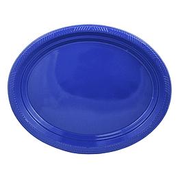 Bandeja Ovalada Azul 5 Uni