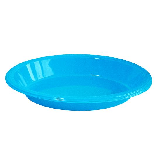 Bowl Ovalado Turquesa 5 Uni