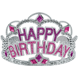 Tiara Corona Happy Birthday 1 Uni