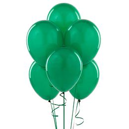 Globo Liso Glam #9 Verde Oscuro 25 Uni