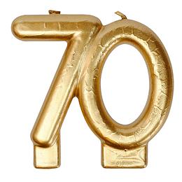 Vela Dorada 70 Años 1 Uni